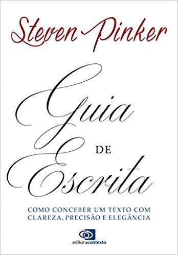 Capa do livro: Guia de escrita