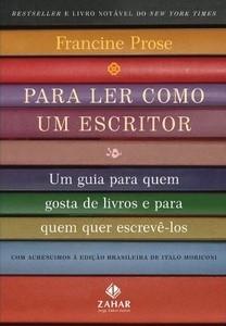 Capa do livro: Para ler como um escritor