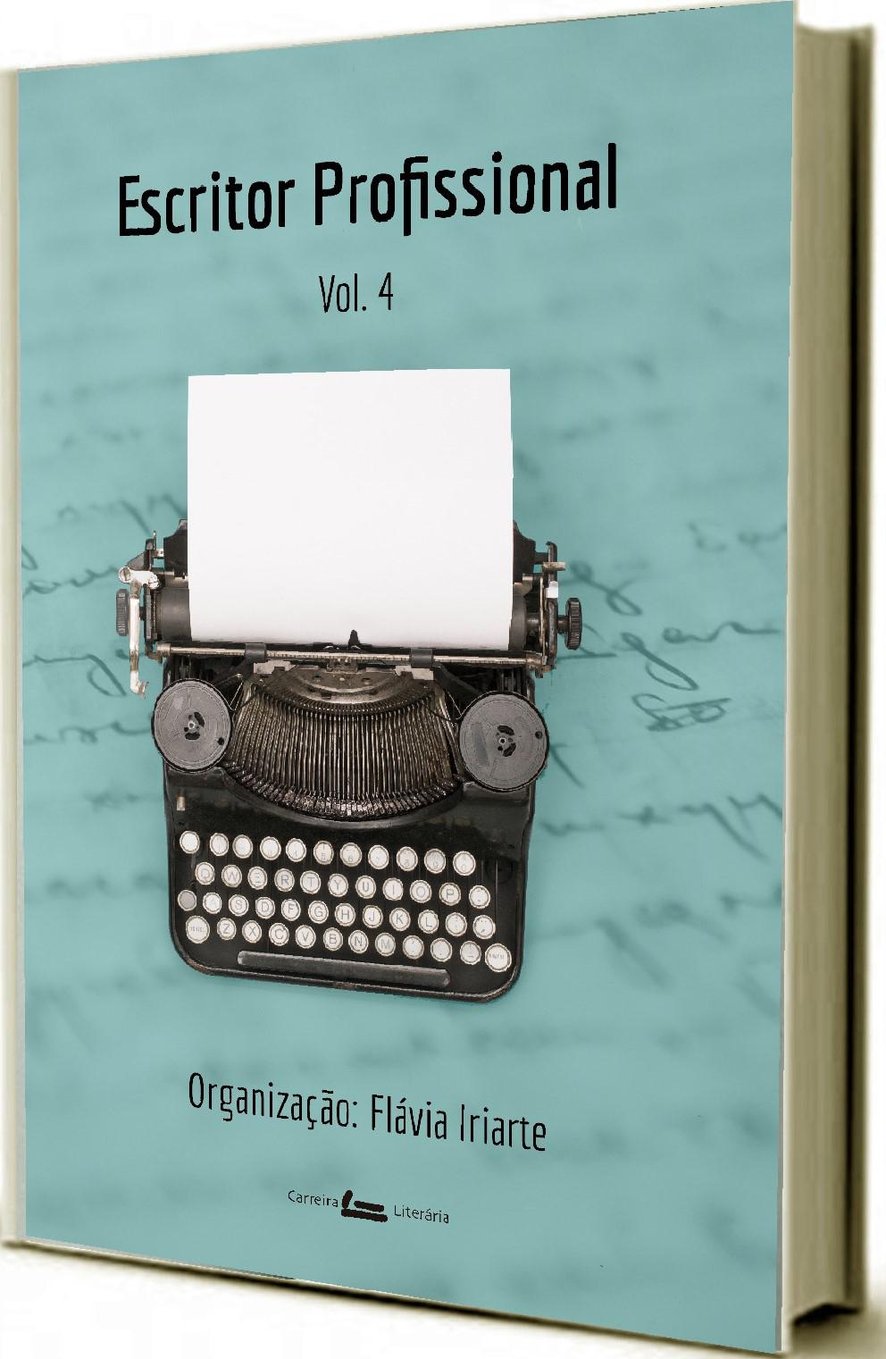 Capa antologia escritor profissional volume 4