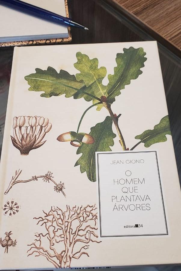 Capa do livro: O Homem que plantava árvores