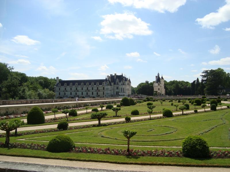 Jardins de Diane de Poitiers, em Chenonceau