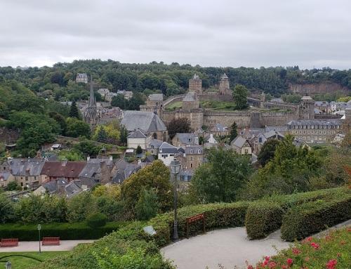 Fougères: seu castelo e circuito literário