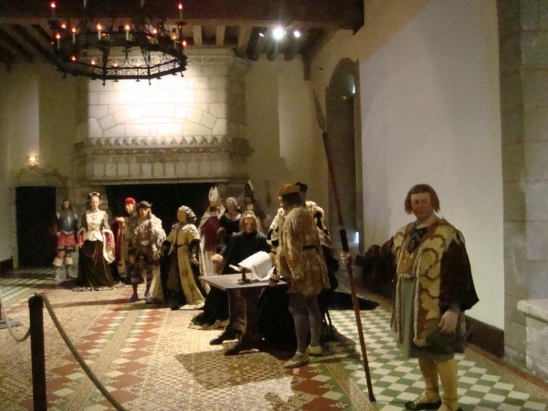 Exposição sobre o casamento de Charles VIII e Anne de Bretagne, em Langeais