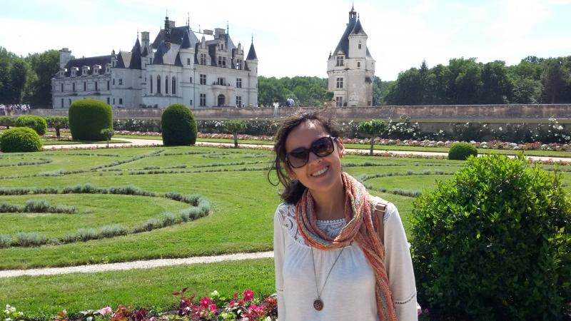 Jardins do castelo de Chenonceau
