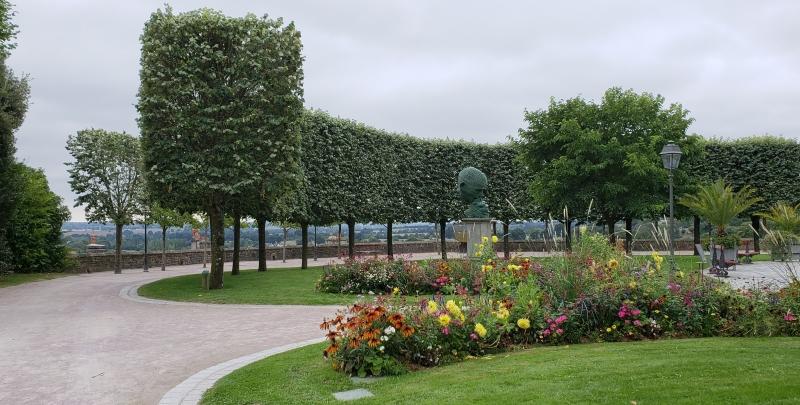 Jardim público de Fougères