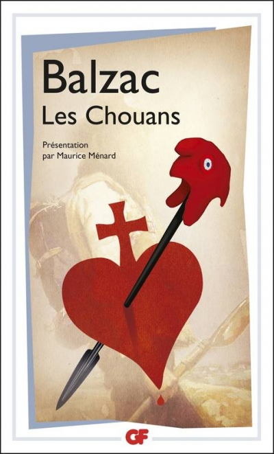 Capa do livro Les Chouans, de Balzac