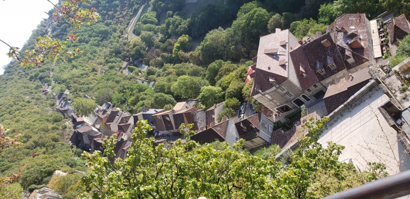 Rocamadour vista do alto