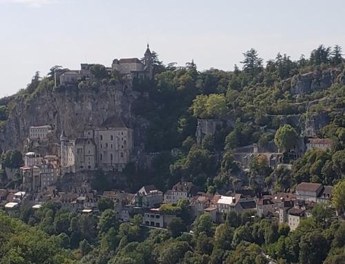Rocamadour e a Virgem Negra no caminho de Santiago