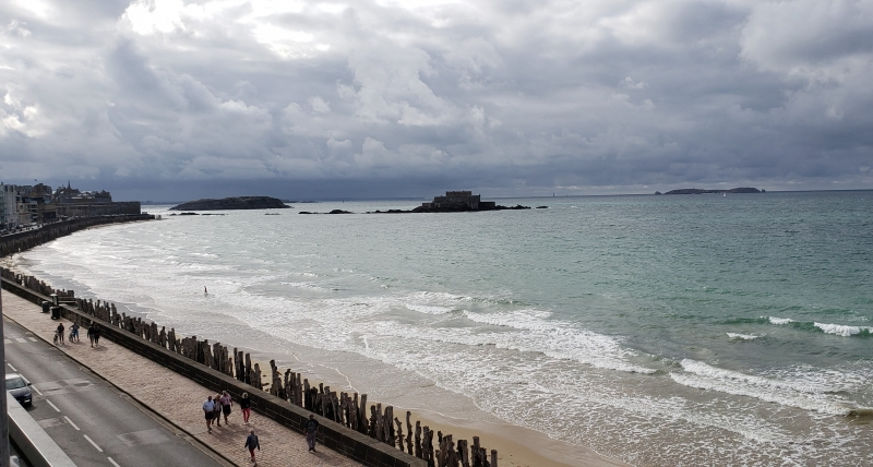 Vista do Hotel Ibis Saint-Malo Plage