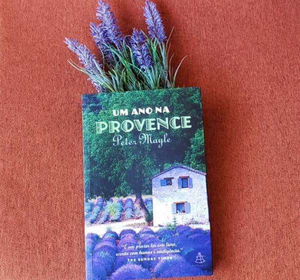 Capa do Livro: Um Ano na Provence