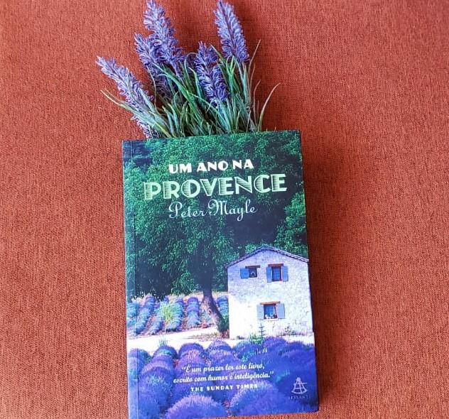 Capa do livro Um Ano na Provence