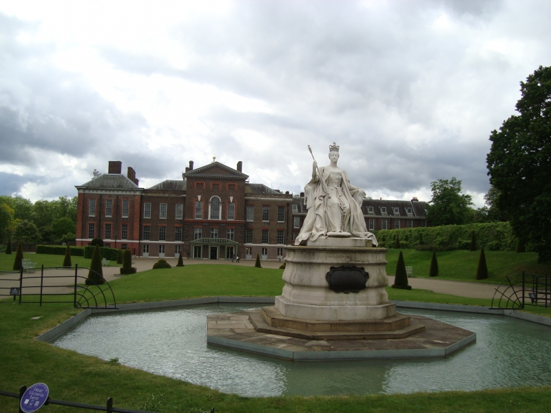 Palácio de Kensington, em Londres