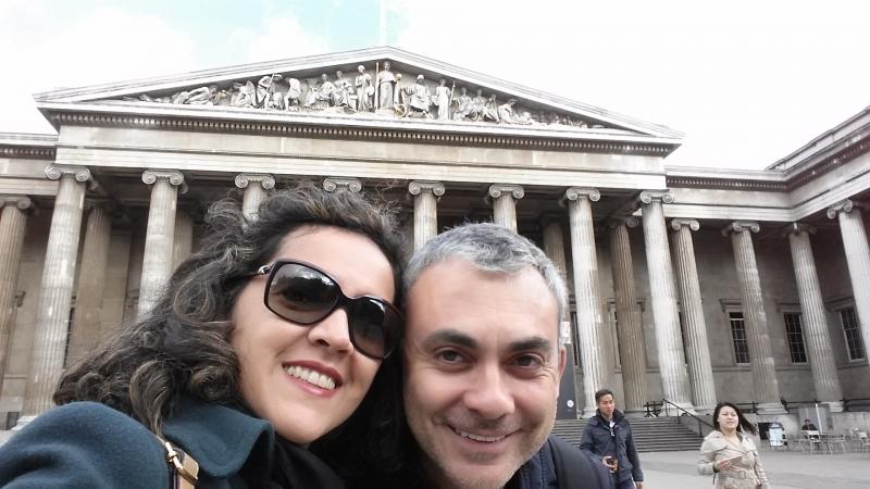 Entrada Museu Britânico