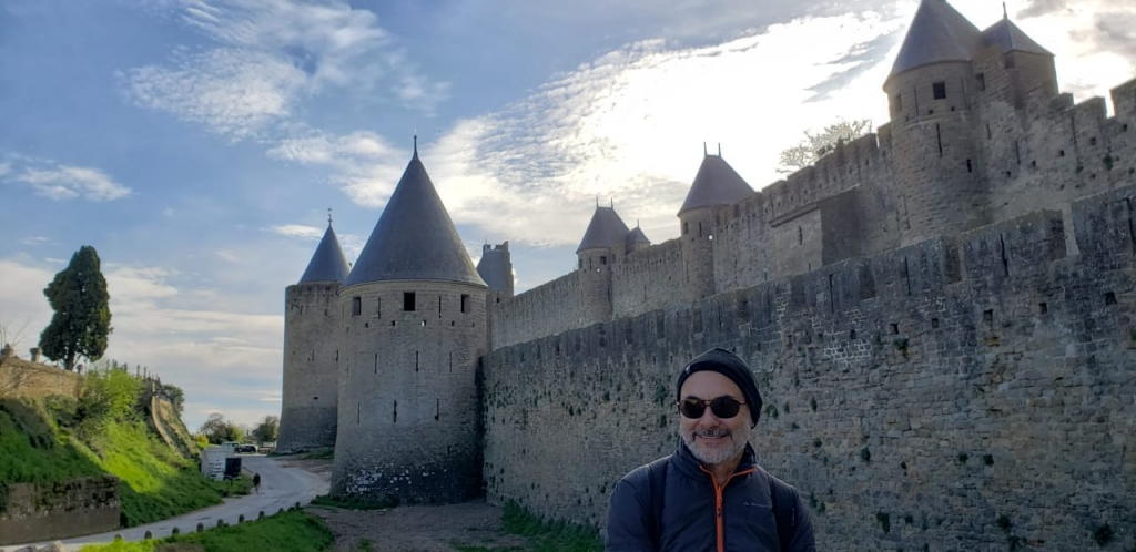 Entrada da Cité Medieval de Carcassonne