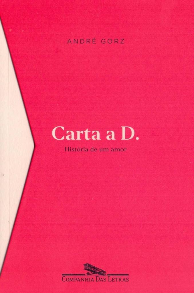 Capa do livro Carta a D. da Companhia das Letras