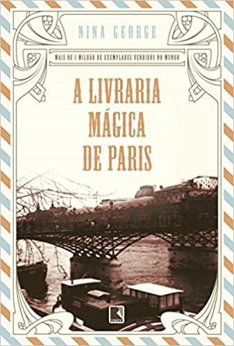 Capa do livro A Livraria Mágica de Paris