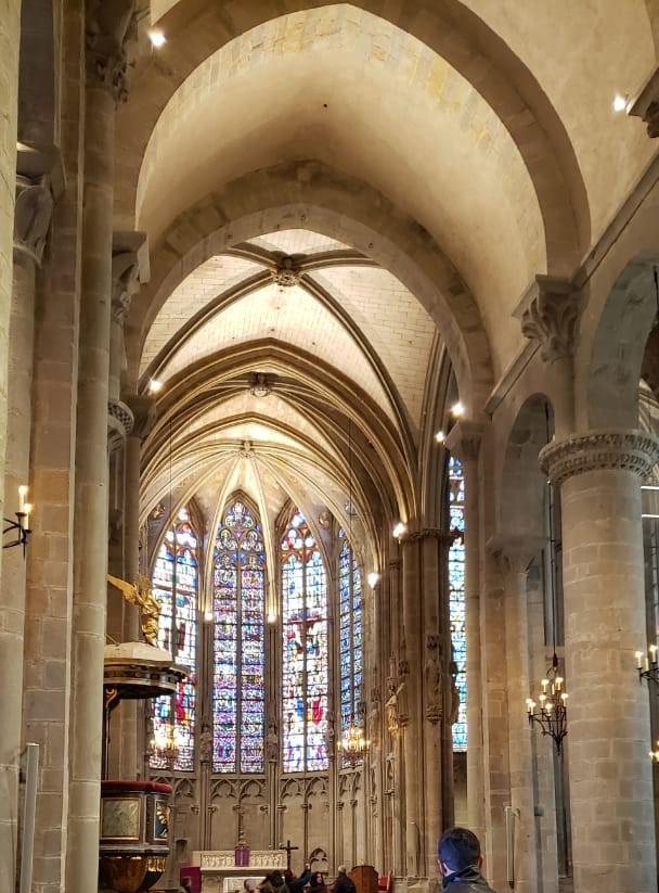 Vitrais da Basilique Saint-Nazaire