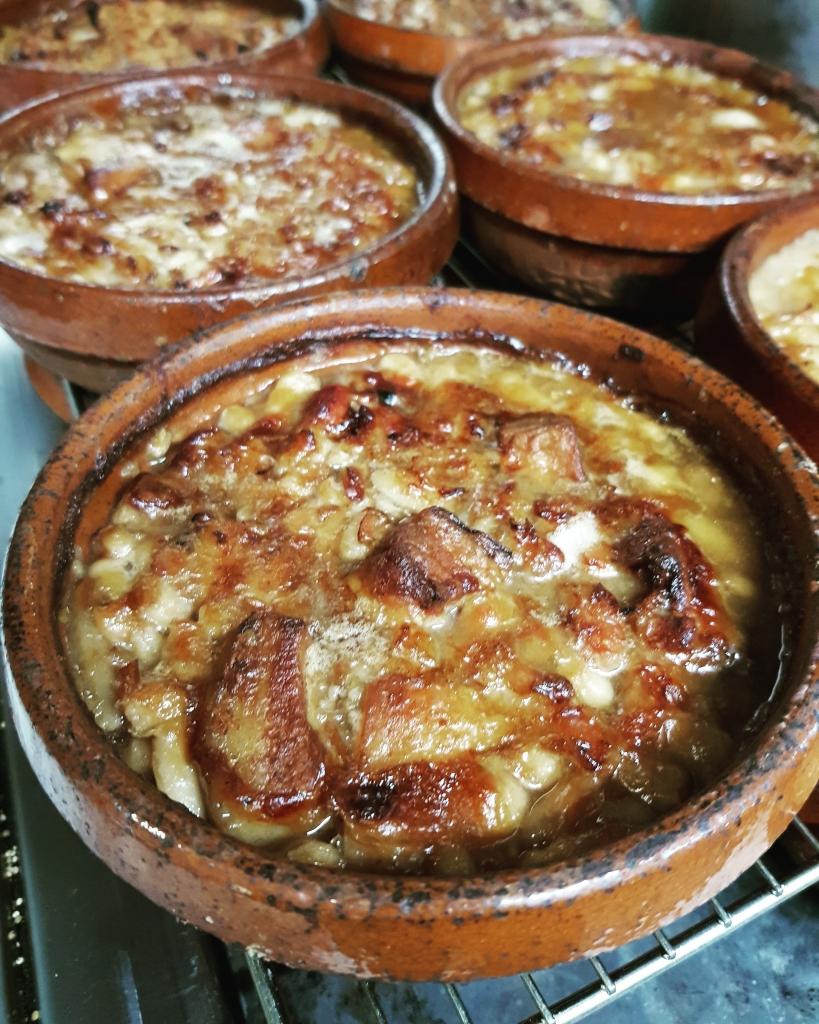 Cassoulet do restaurante La Table de Alais